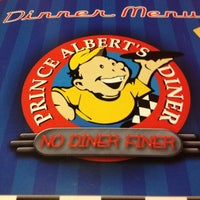 Photo taken at Prince Albert's Diner by Lindsay D. on 11/22/2012