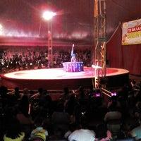 Photo taken at Circo Atayde Hnos. by victor p. on 5/3/2014