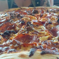 Photo taken at Jolly Pumpkin Pizzeria and Brewery by Giovanni E. on 7/4/2015
