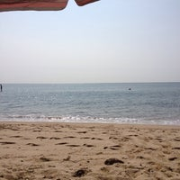 Photo taken at Popponesset Beach by Abigail M. on 8/8/2014