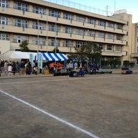 Photo taken at 入間市立豊岡中学校 by Sho F. on 10/27/2012