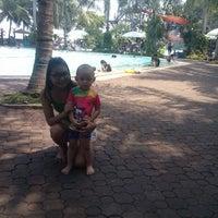 Photo taken at Pantai Mutiara Swimming Pool by Iman P. on 9/8/2013