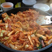 Photo taken at 5.5 닭갈비 막국수 전문점 by Park Y. on 4/21/2013