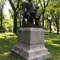 Photo taken at Fitz Greene Halleck Statue by Kevin N. on 7/3/2017