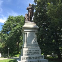 Photo taken at Statue of Daniel Webster by Kevin N. on 7/3/2017