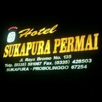 Photo taken at Hotel Sukapura Permai by Tia Djanaka S. on 10/8/2012