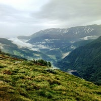 Photo taken at Storehaugtunnellen Lookout by Marius M. on 6/21/2013