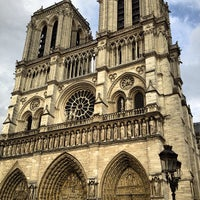 Photo taken at Cathedral of Notre Dame de Paris by Sylvia T. on 7/24/2013