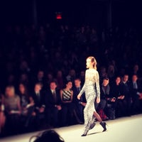Photo taken at The Stage At MBFW by Jinju K. on 2/12/2014