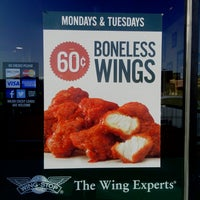 Photo taken at Wingstop by J. M. on 9/23/2014