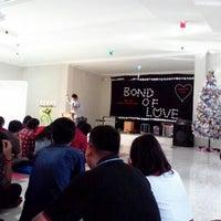 Photo taken at Gereja Kampus UNS by Lidya P. on 1/8/2014