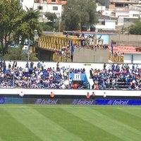 Photo taken at Estadio 10 de Diciembre by Enrique M. on 9/1/2013