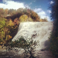 Photo taken at Ithaca Falls by Kevin H. on 10/25/2013