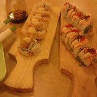 Photo taken at Takenoko Sushi Ketos by Nofrida R. on 8/2/2013