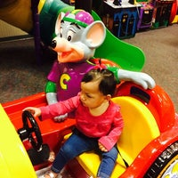 Photo taken at Chuck E. Cheese's by Jose L. on 3/10/2014