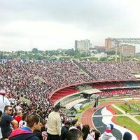 Photo taken at São Paulo Futebol Clube (SPFC) by marcelojhow l. on 9/24/2012