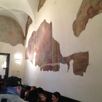 Photo taken at Museo Cenacolo Vinciano by Stacciaburatta on 2/24/2013