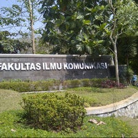 Photo taken at Fakultas Ilmu Komunikasi by Johana T. on 11/1/2012