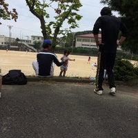 Photo taken at 石田小中学校 グラウンド by 裕樹 小. on 9/23/2014
