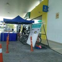 Photo taken at Petronas Bukit Beruntung by Nuya E. on 6/20/2015
