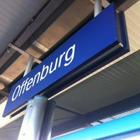 Photo taken at Bahnhof Offenburg by Chris H. on 12/12/2012