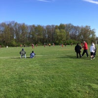 Photo taken at Parkwood Fields by Melissa R. on 4/26/2015