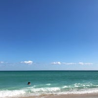 Photo taken at 75th Street Beach by Andres S. on 11/26/2017