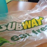 Photo taken at Subway by Janti B. on 8/27/2014