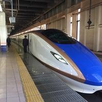 Photo taken at Tohoku Shinkansen Omiya Sta. by Hiroshi T. on 10/18/2014