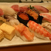 Photo taken at Tsukiji Sushiko by i h. on 10/28/2015