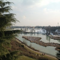 Photo taken at Parco Lago Nord by Arthur M. on 2/17/2013