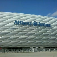 Photo taken at Allianz Arena by Matevž O. on 3/22/2013