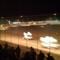 Photo taken at El Paso Speedway Park by Christina H. on 11/10/2012