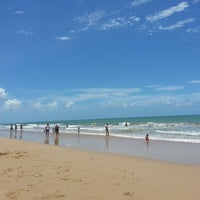 Photo taken at Praia do Recife by Mell C. on 3/17/2013