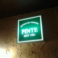 Photo taken at Pinte by Gluxende S. on 11/25/2012