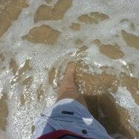 Photo taken at Praia do Recife by Corrs !. on 3/17/2013