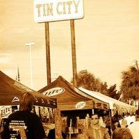 Photo taken at Tin City by Kerri M. on 5/11/2013