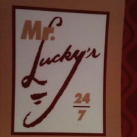 Photo taken at Mr Lucky's by Sarah A. on 12/29/2012