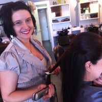 Photo taken at Salon Beverly on Augusta Road by heidi a. on 5/11/2013