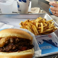 Photo taken at Elevation Burger by James P. on 12/2/2012