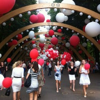 Photo taken at Sokolniki Park by Yana K. on 6/27/2013