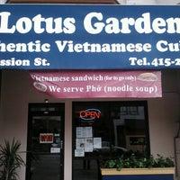 Photo taken at Lotus Garden by Fausto G. on 4/6/2013
