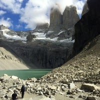 Photo taken at Parque Nacional Torres del Paine by Fernanda G. on 2/22/2013