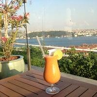 Photo taken at Summit Bar & Terrace by Ebru K. on 5/25/2014