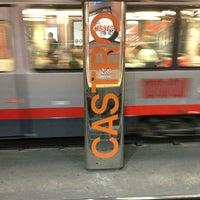Photo taken at Castro MUNI Metro Station by Michelle W. on 5/12/2013