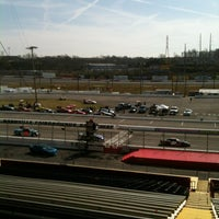 Photo taken at Nashville Fairgrounds Speedway by Bill R. on 4/6/2013