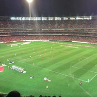 Photo taken at Melbourne Cricket Ground (MCG) by Claire S. on 7/24/2013