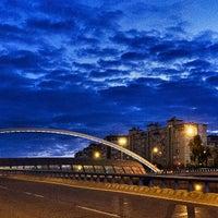 Photo taken at Puente de Ventas by Antonio J. on 5/9/2015