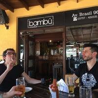 Photo taken at Bambu Resto Bar by Matteo D. on 2/8/2017