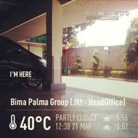 Photo taken at Bima Palma Group (Jkt - HeadOffice) by Ade S. on 3/21/2013
